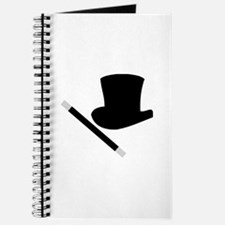 Magic Top Hat and Wand Journal