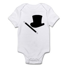 Magic Top Hat and Wand Infant Bodysuit
