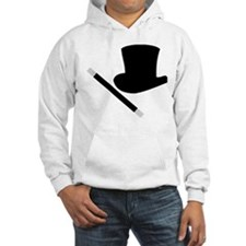 Magic Top Hat and Wand Hoodie