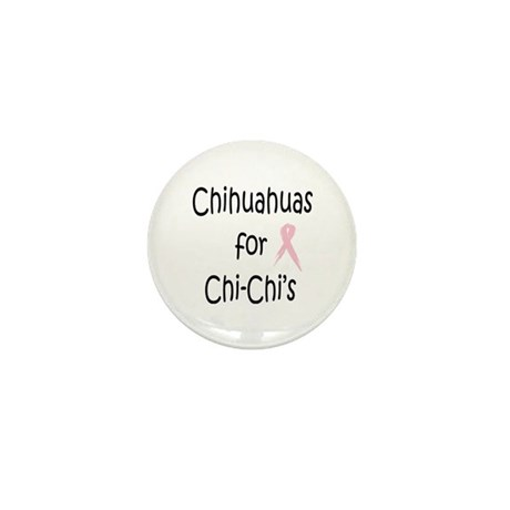 Chihuahuas for Chi-Chi's Mini Button (100 pack)
