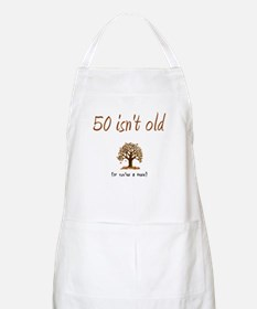 50 isn't old BBQ Apron
