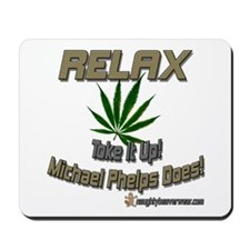 RELAX - Toke It Up Phelps Mousepad