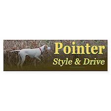 Corwyn Pointer Style & Drive Bumper Bumper Sticker