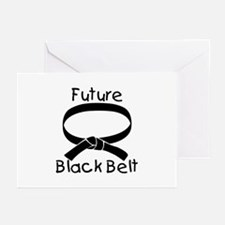Future Black Belt Greeting Cards (Pk of 10)