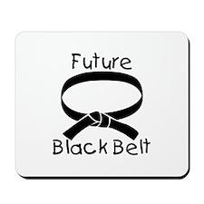 Future Black Belt Mousepad