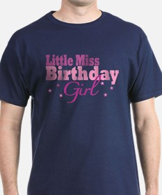Little Miss Birthday Girl T-Shirt