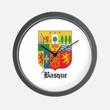 Basquan Coat of Arms Seal Wall Clock