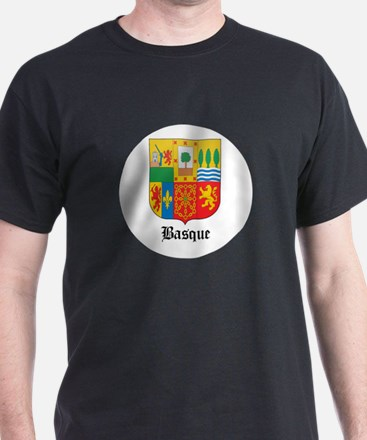 Basquan Coat of Arms Seal T-Shirt