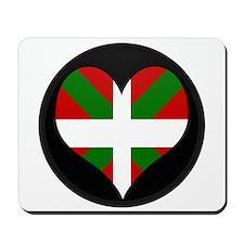 I love Basque Flag Mousepad