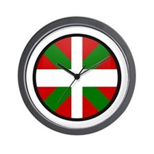 Basque Wall Clock