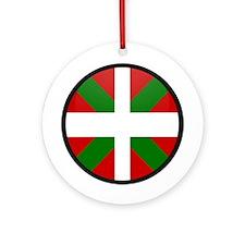 Basque Ornament (Round)