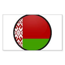 Belarus Rectangle Decal