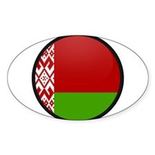 Belarus Oval Decal