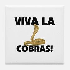Viva La Cobras Tile Coaster
