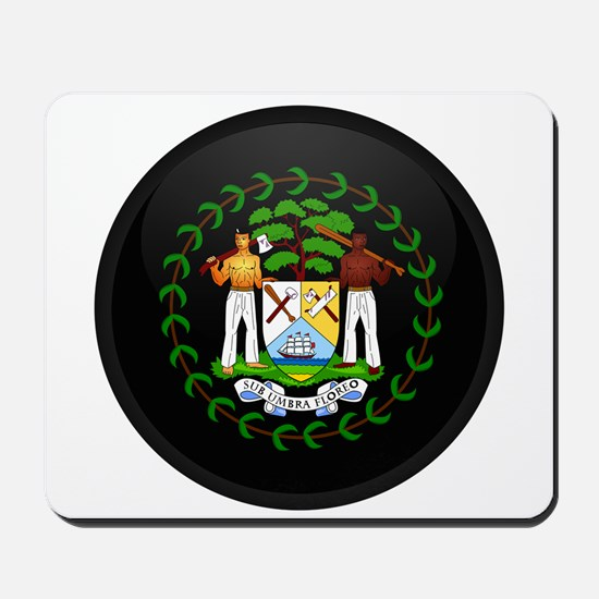 Coat of Arms of Belize Mousepad