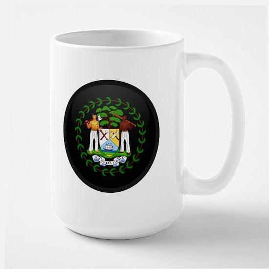 Coat of Arms of Belize Large Mug
