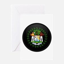 Coat of Arms of Belize Greeting Card