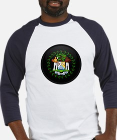 Coat of Arms of Belize Baseball Jersey