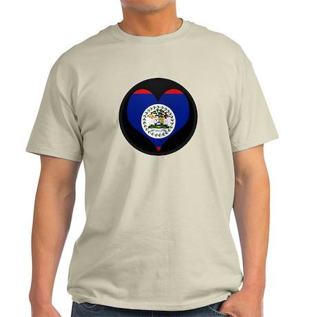 I love Belize Flag Light T-Shirt