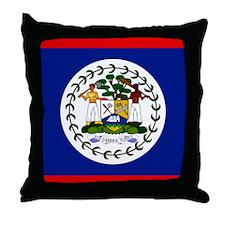 Belizean Throw Pillow
