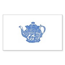 """Teapot"" Rectangle Decal"