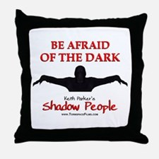 Shadow People - Logo Throw Pillow