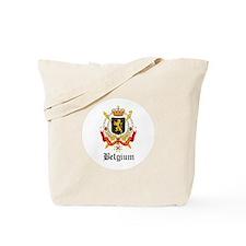 Belgian Coat of Arms Seal Tote Bag