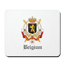 Belgian Coat of Arms Seal Mousepad