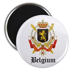 Belgian Coat of Arms Seal Magnet