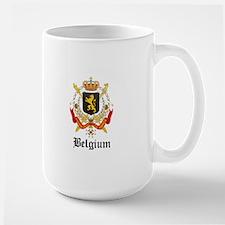 Belgian Coat of Arms Seal Mug