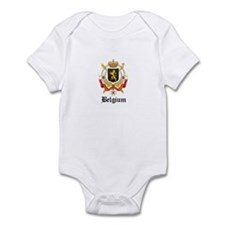 Belgian Coat of Arms Seal Infant Bodysuit