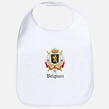 Belgian Coat of Arms Seal Bib