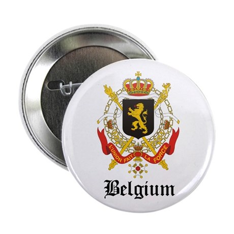 """Belgian Coat of Arms Seal 2.25"""" Button"""