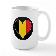I love Belgium Flag Mug