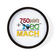 MACH formula Wall Clock