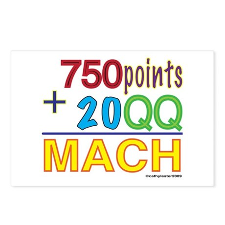 MACH formula Postcards (Package of 8)