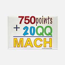MACH formula Rectangle Magnet