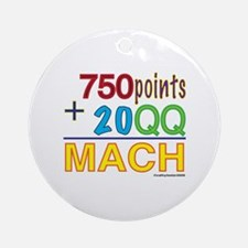 MACH formula Ornament (Round)