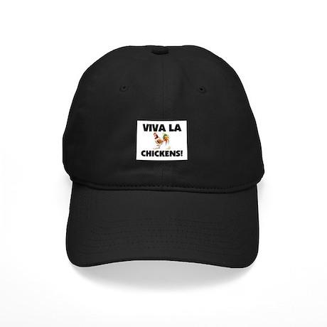 Viva La Chickens Black Cap