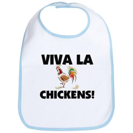 Viva La Chickens Bib