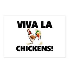 Viva La Chickens Postcards (Package of 8)