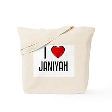 I LOVE JANIYAH Tote Bag