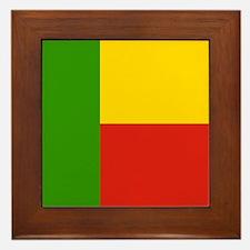 Beninese Framed Tile