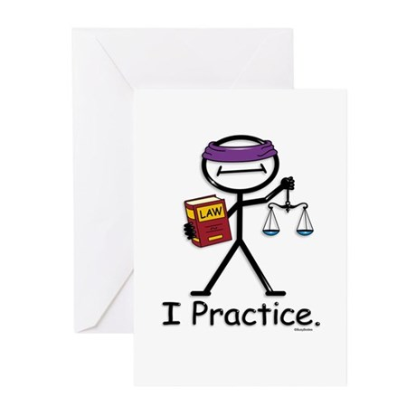 Attorney Practice Greeting Cards (Pk of 10)