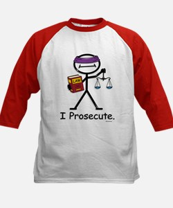 Prosecute Kids Baseball Jersey