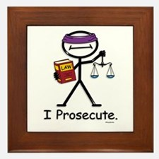 Prosecute Framed Tile