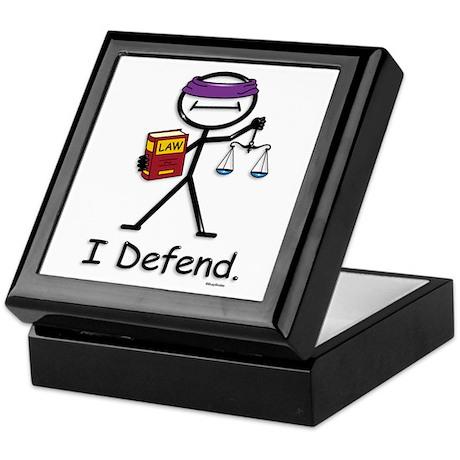 BusyBodies Attorney Keepsake Box
