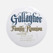 Gallagher Personalized Family Reunion Ornament (Ro