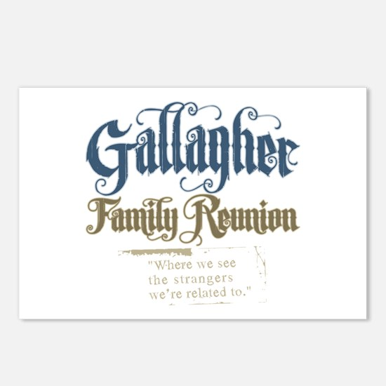 Gallagher Personalized Family Reunion Postcards (P
