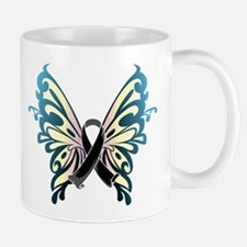 Skin Cancer Butterfly Mug